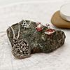 Precious Silver Heart Pendant and Swarovski Earrings in a Gift Box