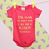 Pretty Pink Personalized Onesie for Baby