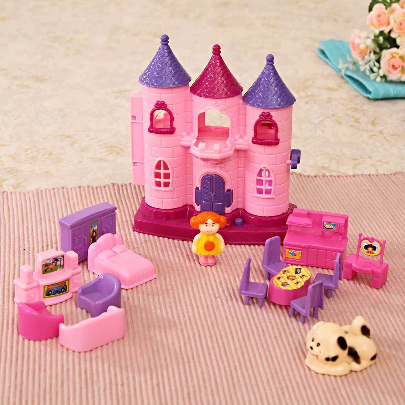 Princess Castle with furniture