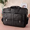 Pure Leather Multipurpose Laptop Office Messenger Bag