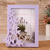 Purple Fish Personalized Photo Frame