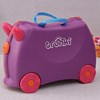 Purple Ride-on Trolley For Kids