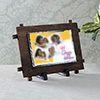 Queen of Kitchen Personalized Stone Photo Frame