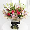 Radiant Pink Hand Tied (Large)
