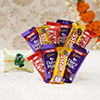 Rakhi For Kids With 10 Assorted Chocolates