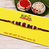 Red and Green Rakhi Thread