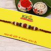 Red and Green Thread Rakhi