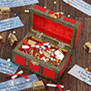 Red Box of Chocolates & New Year Messages