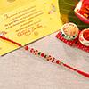 Red & Green Beads Rakhi