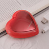 Red Heart Shaped USB Charged Hand Warmer
