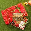Red Saree with Shingaar Set