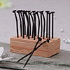 Reusable Quirky Toothpick Holder With Stand