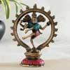 Revered Nataraja Brass Idol