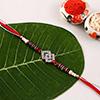Rhombus Dial Premium Stone Rakhi