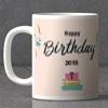 Ribbons & Balloons Personalized Birthday Mug