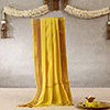 Ritual Yellow Stole For Puja