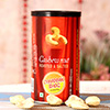 Roasted Cashews Can