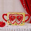 Romantic Doodles Mug Set of 2
