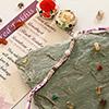 Rose Quartz & Amethyst Stone Rakhi