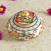 Round Jewellery Marble Box