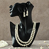 Royal-Look White Pearl Necklace