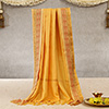 Sacred Yellow Stole For Puja
