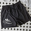 Sealed with A Kiss Personalized Black Boxers