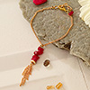 Semi Precious Bracelet with Red Stones for your Loved One