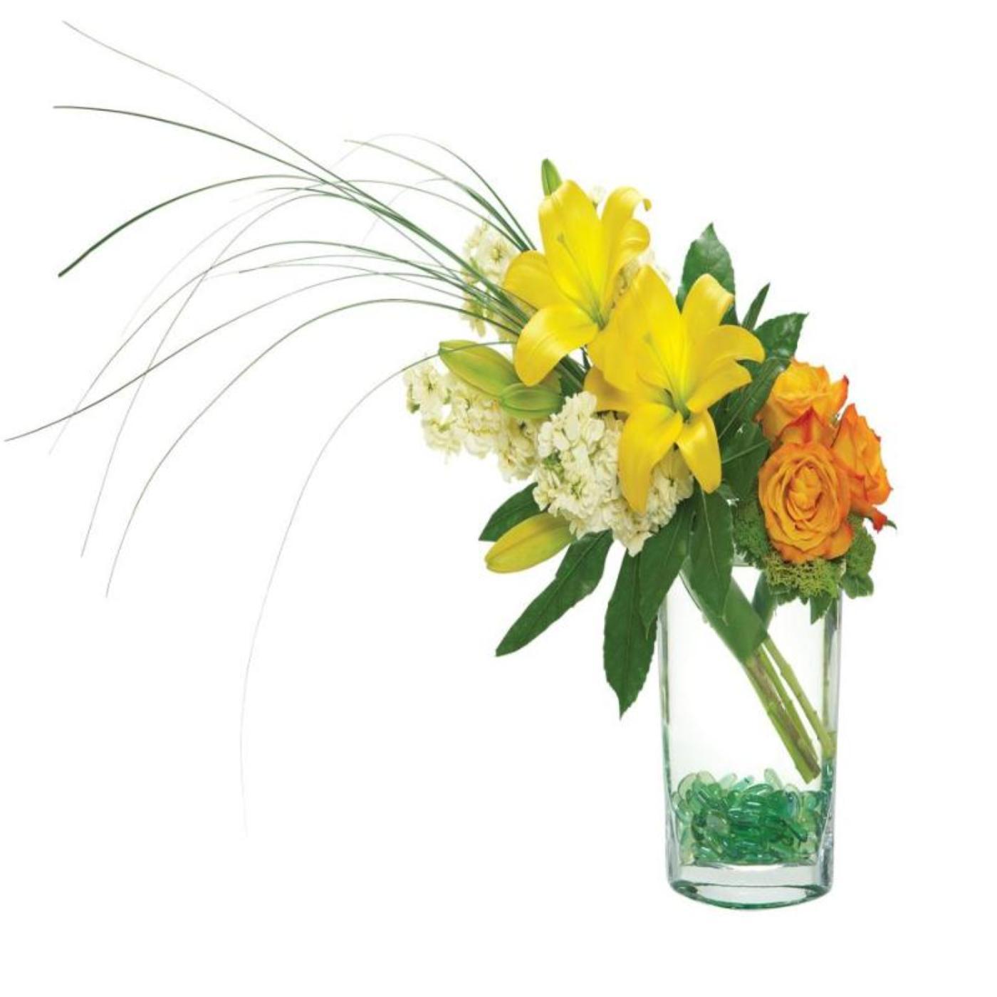 Serenity Garden in a Glass Vase