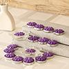 Set of 16 Purple Tea Light Scented Candles