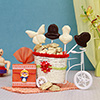 Set of 2 Cute Kids Rakhis with Assorted Chocolates & Lollipops
