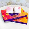 Set of 2 Rakhis with 2 Cadbury Celebrations Packs