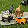Set Of 6 Pcs World Animal Set