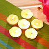 Set Of 6 Tealight Candles