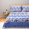 Set of Single Cotton Bed Sheet and Pillow Cover