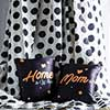 Set of Two Cushions with Polka Bed Cover