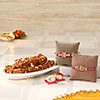 Set of Two Rakhis with Doda Barfi Sweets