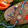 Shining Stones Bhaiya Bhabhi Rakhi