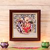 Shiv Parvati Framed Picture