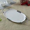 Silver Plated Cake Knife & Server With Milton Melamine Tray