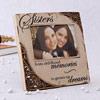 Sisters Theme Ceramic Photo Frame