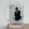 Sketchy Hearts Personalized Birthday Beer Mug