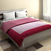 Smooth and Comfortable Quilt in Maroon
