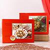 Soan Papdi with Panjari Laddoo In A Gift Box