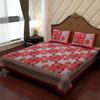 Soft Cotton Multi Colour Bed Cover