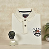 Sonata Analog Watch with U.S. Polo White T-Shirt for Men