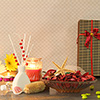 Soothing Potpourri with Scented Candle & Diffuser