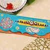 Sparkling Colorful Beaded Rakhi