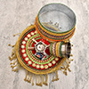 Special Karwa Chauth Kit with Golden Tissue Chunni