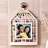 Square Cage Personalized Photo Frame